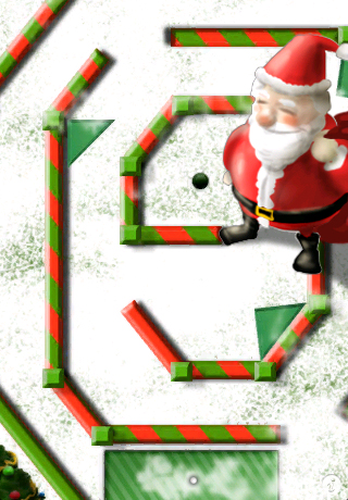 Screenshot Mini Touch Golf Holiday Edition