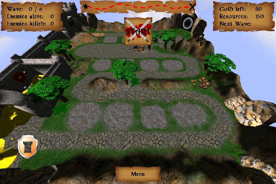 Screenshot King's Treasure Defense