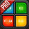 Color Text Pro - Reflex game